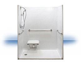 Walk in shower in Rensselaer by Independent Home Products, LLC