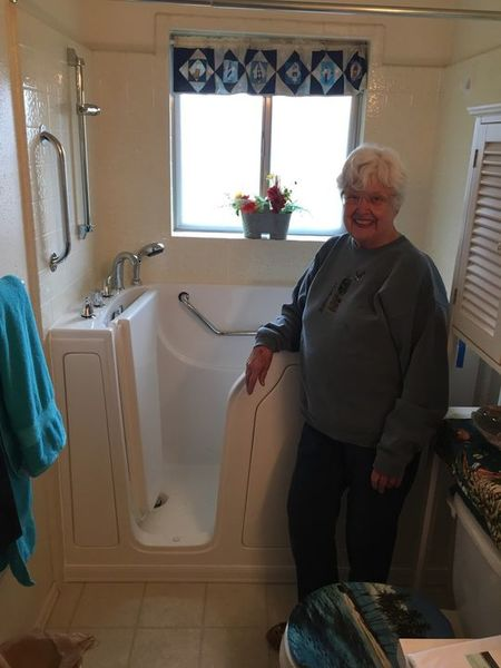 Benefits of Walk in Tubs in Clinton by Independent Home Products, LLC